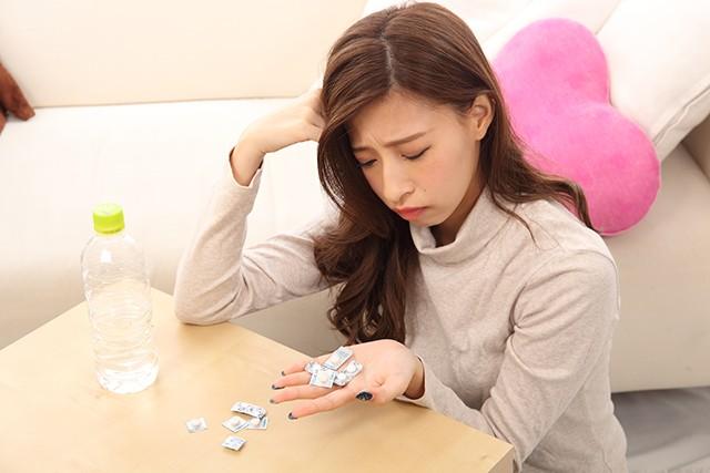 緊張型頭痛の施術